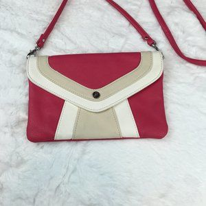 Grace Adele small pink cross-body bag
